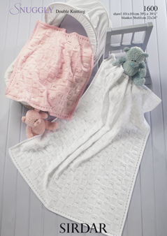 Baby Shawls Blankets Knitting Patterns