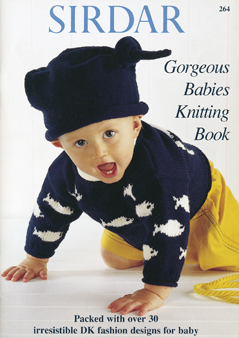 264 Gorgeous Babies Knitting Book