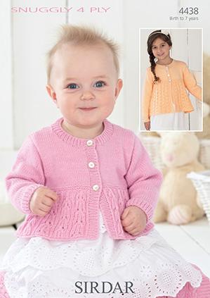 Baby Cardigans Jackets Knitting Patterns