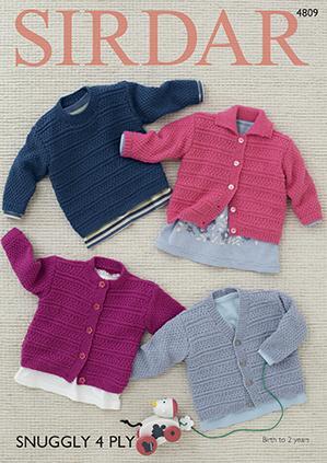 e7013425e Baby Cardigans   Jackets Knitting Patterns