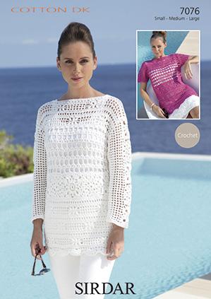 Womens Tops Knitting Patterns