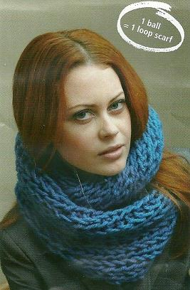Free Knitting Pattern For Snood Scarf : Scarf Patterns