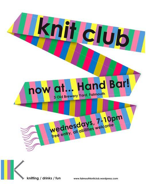 Falmouth Knit Club @ Hand Bar