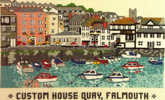 Custom House Quay, Falmouth