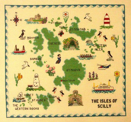 Isles of Scilly Map Sampler